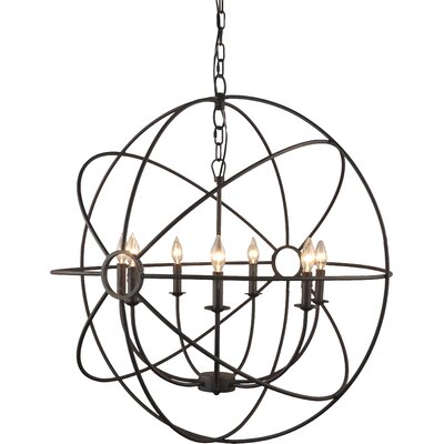 7-Light Globe Pendant