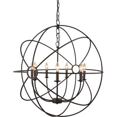 7-Light Globe Pendant