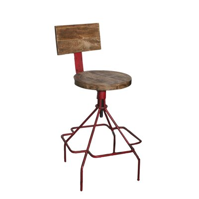 Orlando Adjustable Height Bar Stool