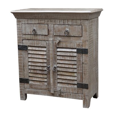 Troy 2 Drawer Server Color: Grey Wash