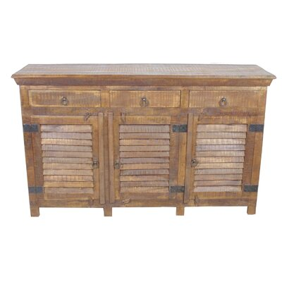 Troy 3 Drawer Sideboard Color: Honey
