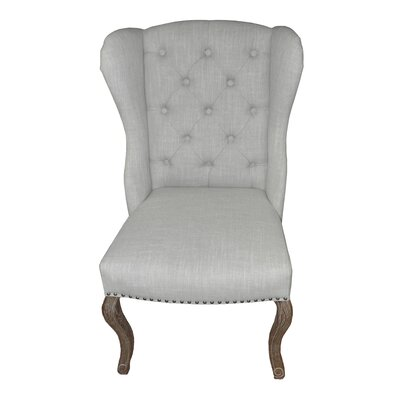 High Back Wingback Chair