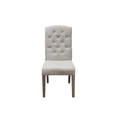 Parsons Chair Chair Color: Ivory