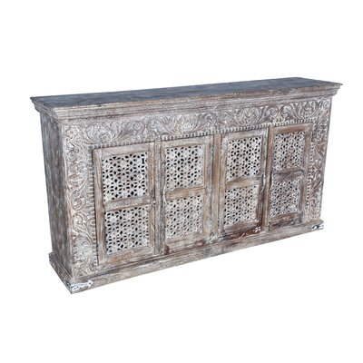 Aveliss Carved 4 Door Sideboard
