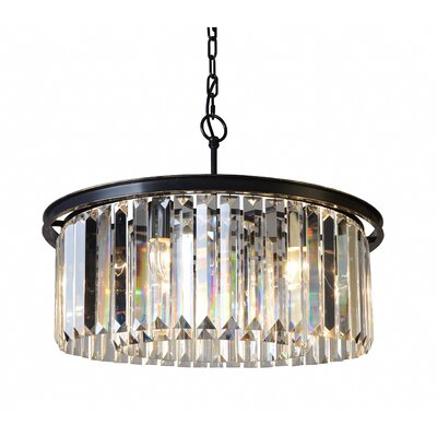 Bostick 6-Light Drum Chandelier
