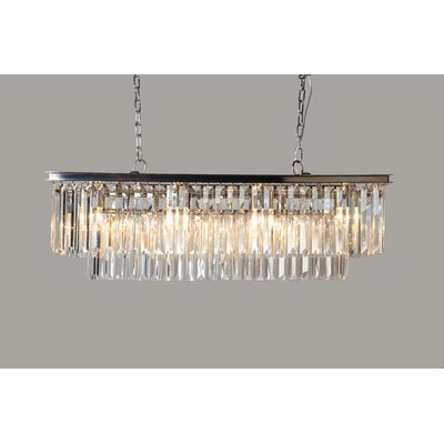 Bostick 8-Light Crystal Chandelier