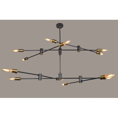 Endo 12- Light Sputnik Chandelier