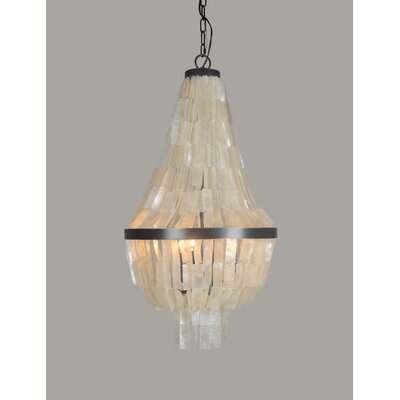 Quillen 3-Light Empire Chandelier