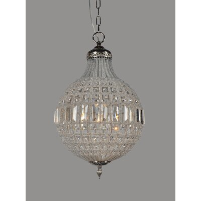 Dyanna 1-Light Crystal Pendant