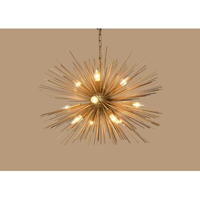 Duron 12-Light Sputnik Chandelier