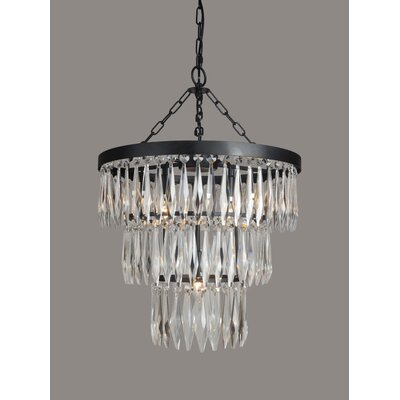 Kaleigh 4-Light Crystal Chandelier