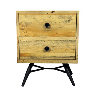Ada 2 Drawer Nightstand