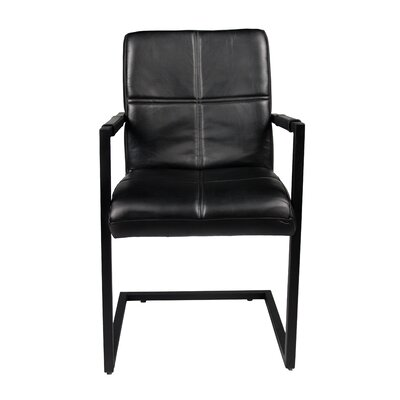 Rui Armchair Upholstery: Ebony