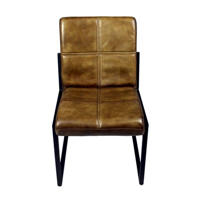 Rui Side Chair Upholstery: Chestnut