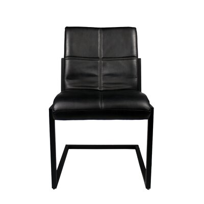 Rui Side Chair Upholstery: Ebony
