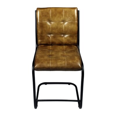 Ziyue Side Chair Upholstery: Chestnut