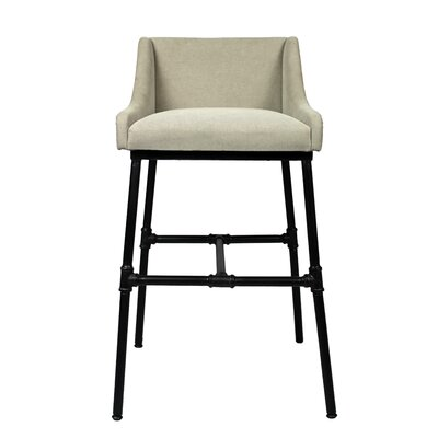 Yulin Adjustable 3 Dining Chair Upholstery Color: Light Gray