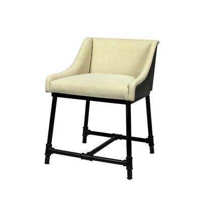 Yulin Adjustable 3 Dining Chair Upholstery Color: Natural