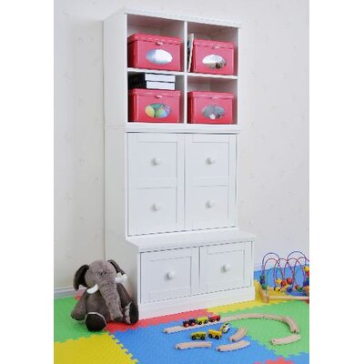 KidzPad Modular Storage Base with Drawer Cubbies - Quantity: 3 piece, Finish: White at Sears.com