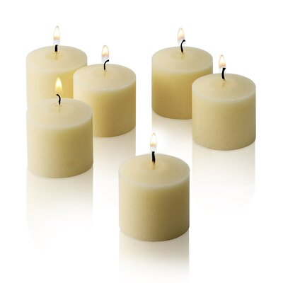 French Vanilla Scented Votive Candles LITD-V1012-FRNGVNILA