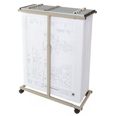 Mobile Plan Hanging Filing Cart