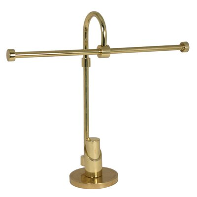 Allied Brass Tribecca Free Standing 2 Arm Table Guest Towel Holder - Finish: Satin Nickel