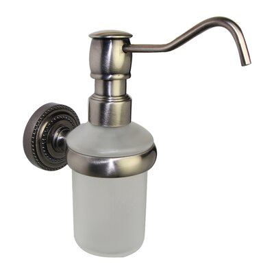 Dottingham Wall Mounted Soap Dispenser Finish: Antique Pewter