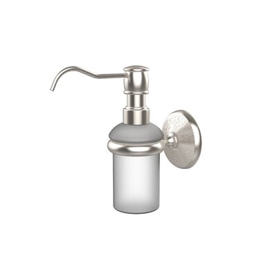 Monte Carlo Wall Mounted Soap Dispenser Finish: Satin Nickel