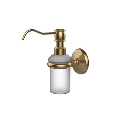 Monte Carlo Wall Mounted Soap Dispenser Finish: Brushed Bronze