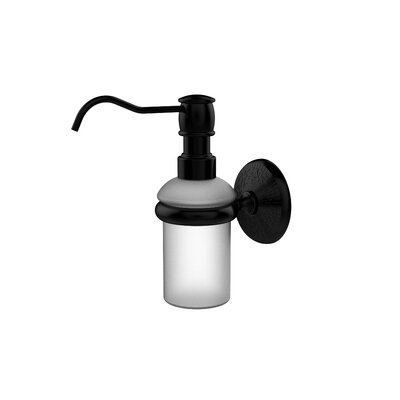 Monte Carlo Wall Mounted Soap Dispenser Finish: Matte Black