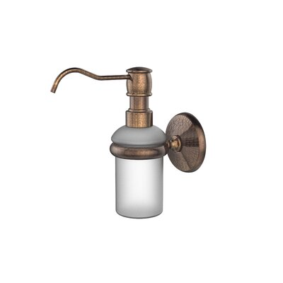 Monte Carlo Wall Mounted Soap Dispenser Finish: Venetian Bronze