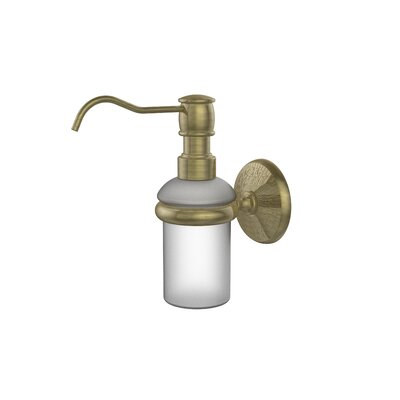 Monte Carlo Wall Mounted Soap Dispenser Finish: Antique Brass