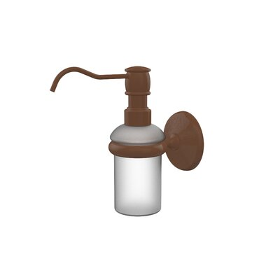 Monte Carlo Wall Mounted Soap Dispenser Finish: Antique Bronze