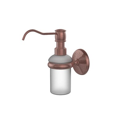 Monte Carlo Wall Mounted Soap Dispenser Finish: Antique Copper
