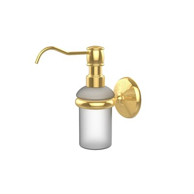 Monte Carlo Wall Mounted Soap Dispenser Finish: Polished Brass