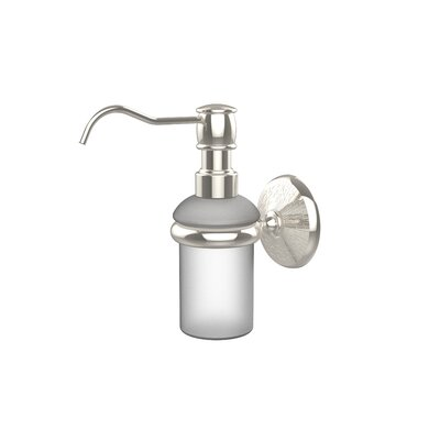 Monte Carlo Wall Mounted Soap Dispenser Finish: Polished Nickel