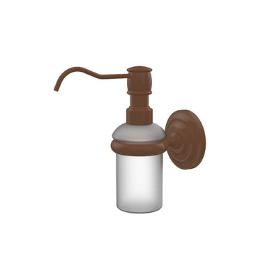 Universal Wall Mounted Soap Dispenser Finish: Antique Bronze
