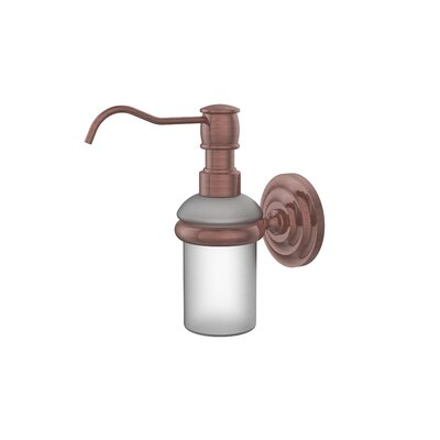 Universal Wall Mounted Soap Dispenser Finish: Antique Copper