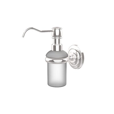 Universal Wall Mounted Soap Dispenser Finish: Polished Chrome