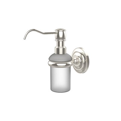 Universal Wall Mounted Soap Dispenser Finish: Polished Nickel
