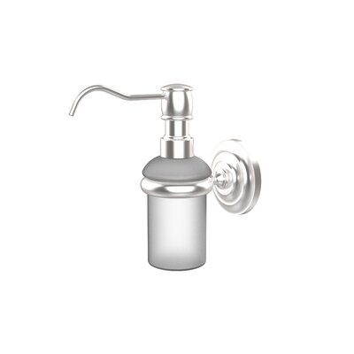 Universal Wall Mounted Soap Dispenser Finish: Satin Chrome