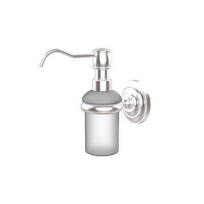 Universal Wall Mounted Soap Dispenser Finish: Satin Chrome