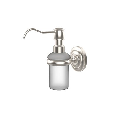 Universal Wall Mounted Soap Dispenser Finish: Satin Nickel