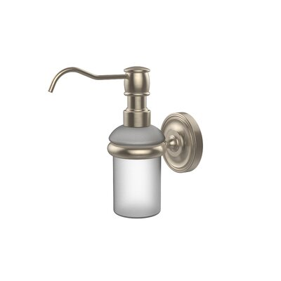 Universal Wall Mounted Soap Dispenser Finish: Antique Pewter