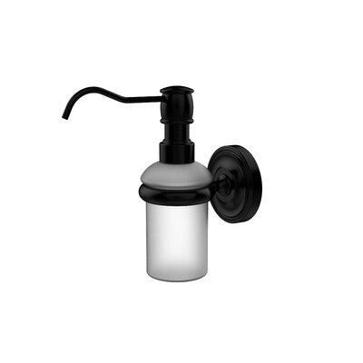 Universal Wall Mounted Soap Dispenser Finish: Matte Black