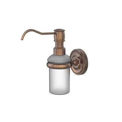 Universal Wall Mounted Soap Dispenser Finish: Venetian Bronze