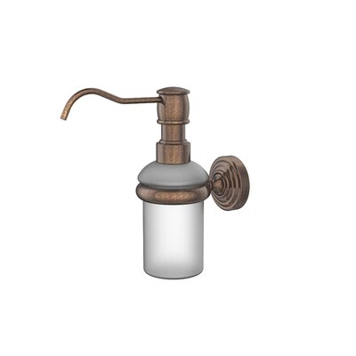 Waverly Place Wall Mounted Soap Dispenser Finish: Venetian Bronze