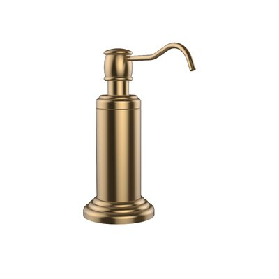 Waverly Place Free Standing Soap Dispenser Finish: Brushed Bronze