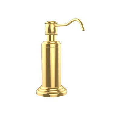 Waverly Place Free Standing Soap Dispenser Finish: Polished Brass
