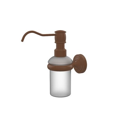 Waverly Place Wall Mounted Soap Dispenser Finish: Antique Bronze
